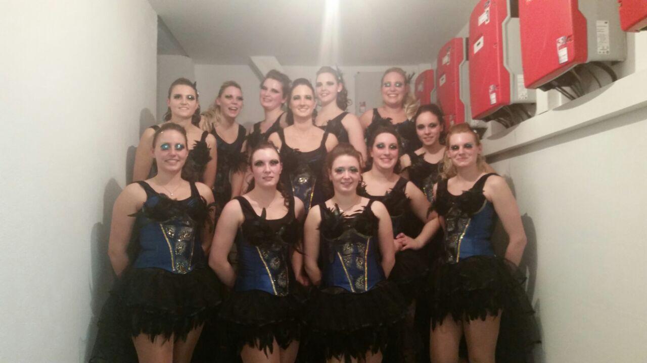 Showtanz-Gruppe des SC Schollbrunn