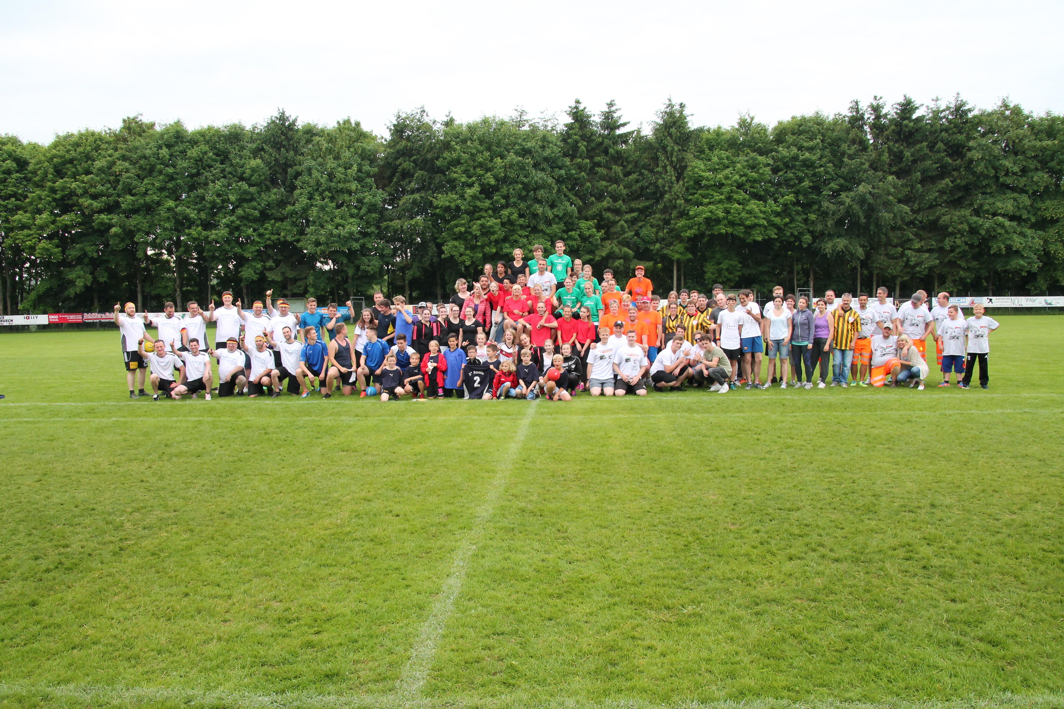 1. Völkerball-Turnier am 11.06.2016