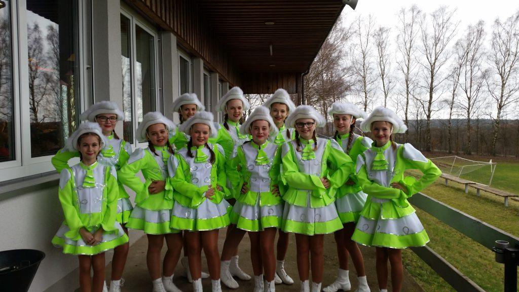 Jugendgarde des SC schollbrunn