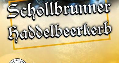 Schollbrunner Haddelbeerkerb 2018, Festprogramm